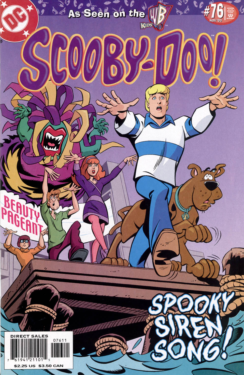 Read online Scooby-Doo (1997) comic -  Issue #76 - 1