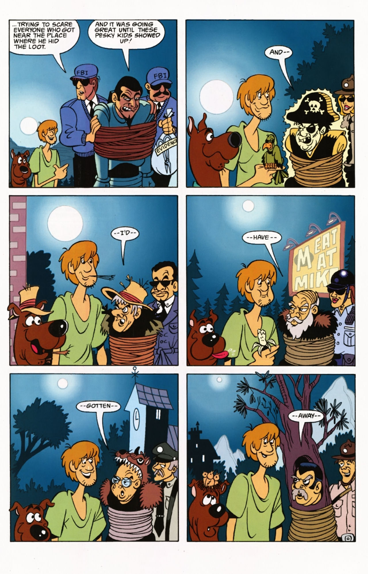 Read online Scooby-Doo: Where Are You? comic -  Issue #1 - 26