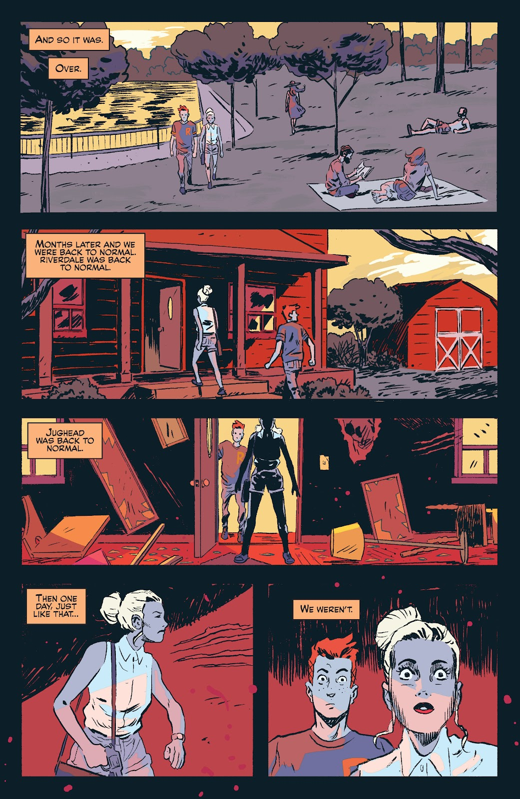 Jughead The Hunger Issue #0 #1 - English 39