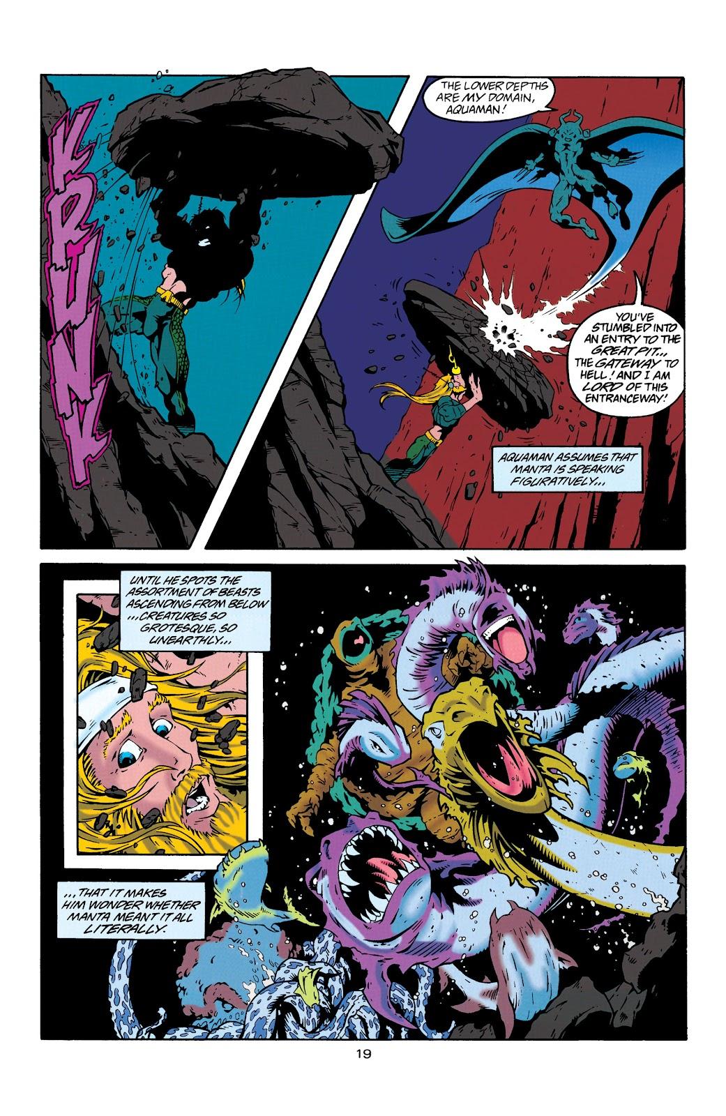 Aquaman (1994) Issue #29 #35 - English 19