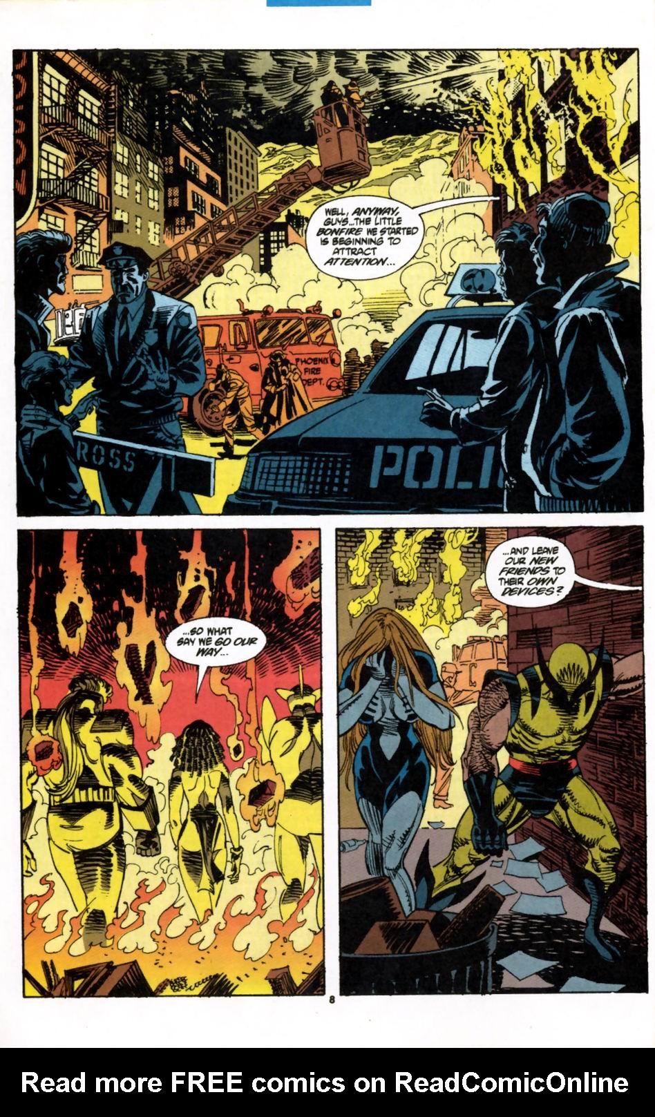 Read online Secret Defenders comic -  Issue #2 - 7