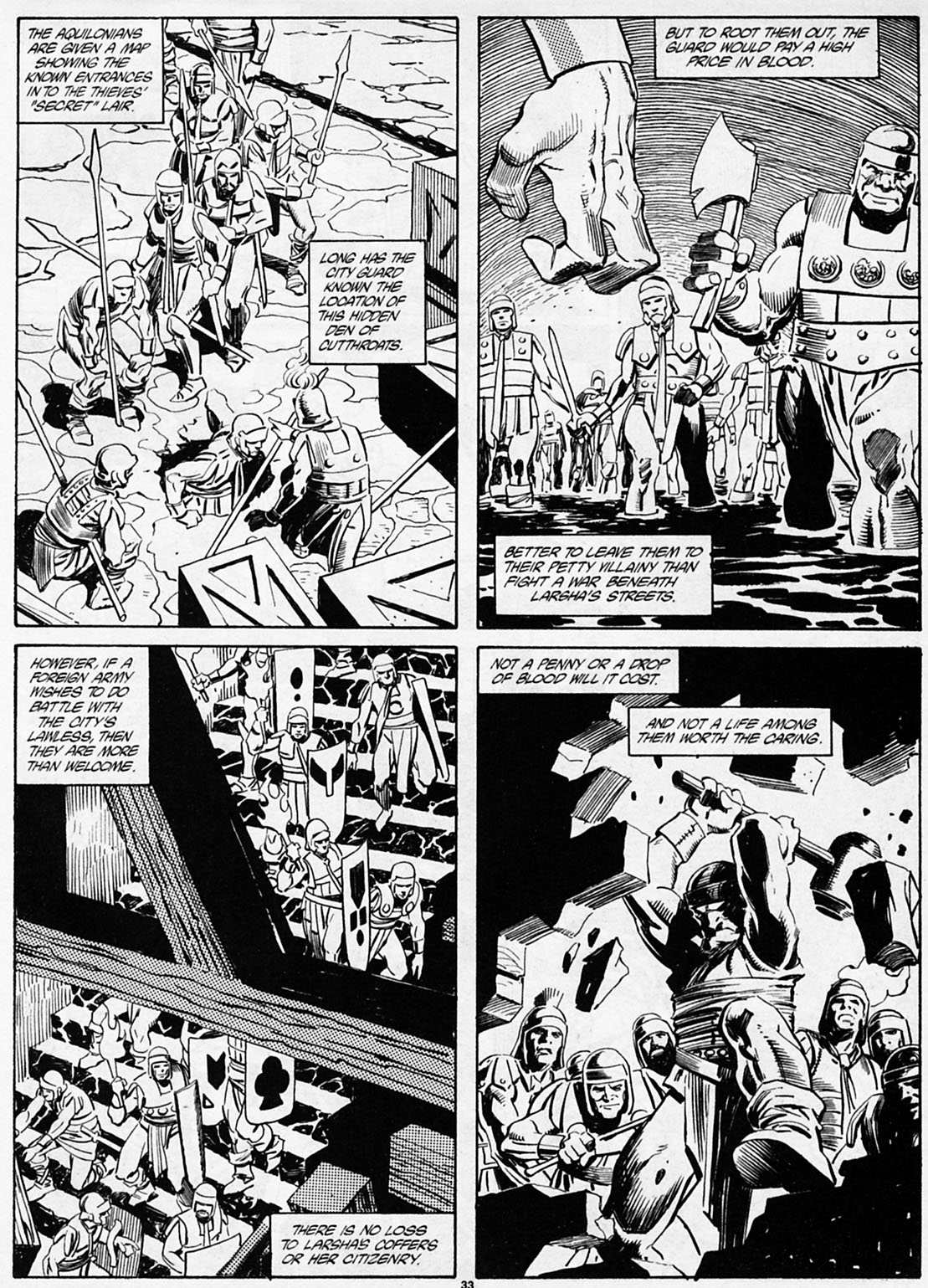 The Savage Sword Of Conan Issue #186 #187 - English 35