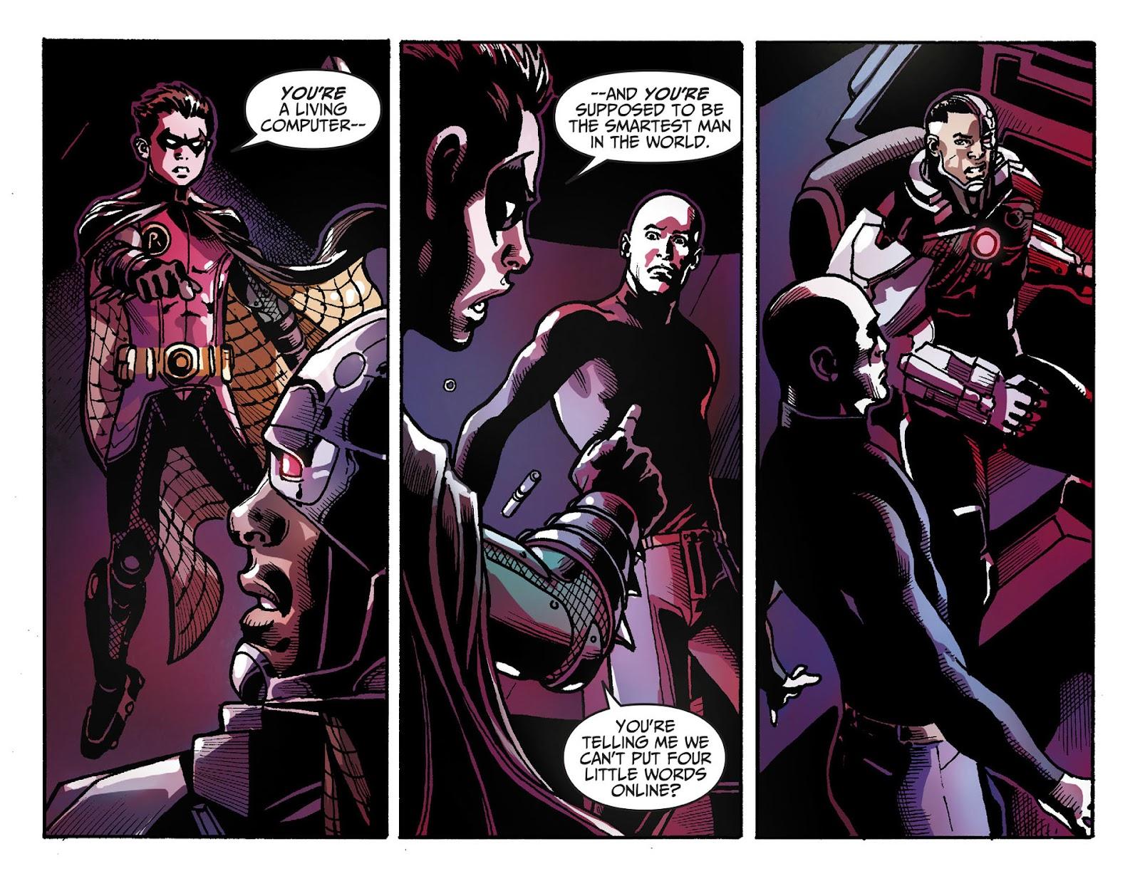Injustice: Gods Among Us [I] Issue #28 #29 - English 14