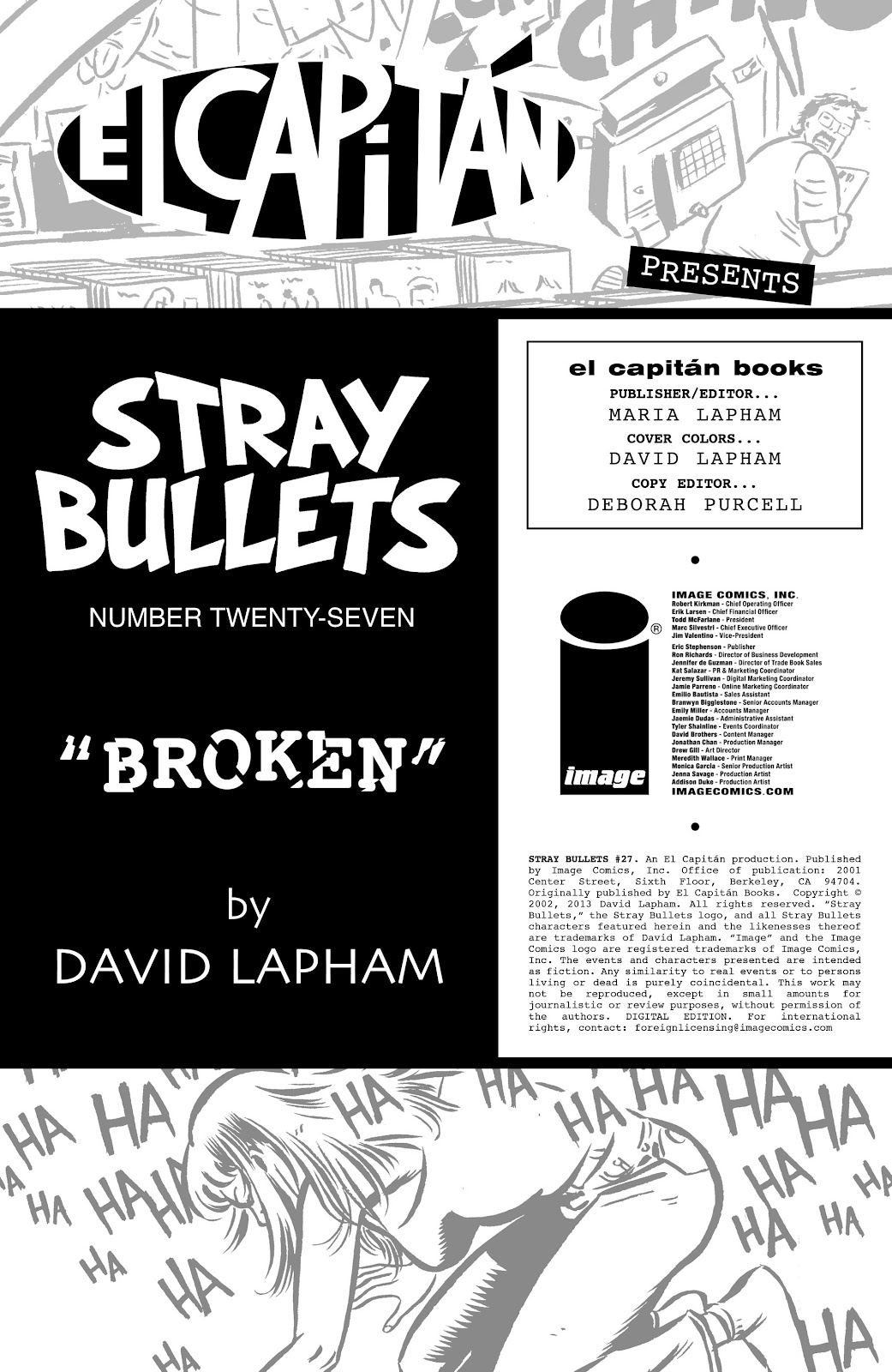 Stray Bullets Issue #27 #27 - English 2