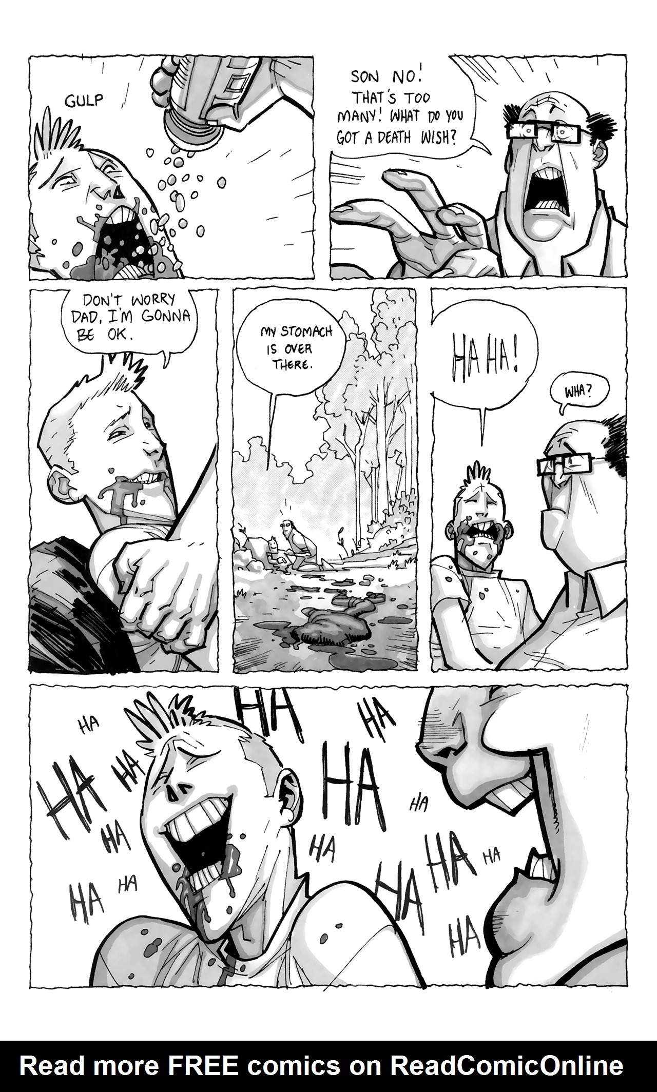 Read online Sea Bear & Grizzly Shark comic -  Issue # Full - 29