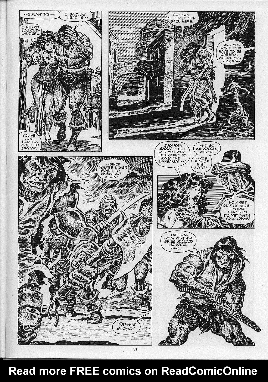 The Savage Sword Of Conan Issue #200 #201 - English 33