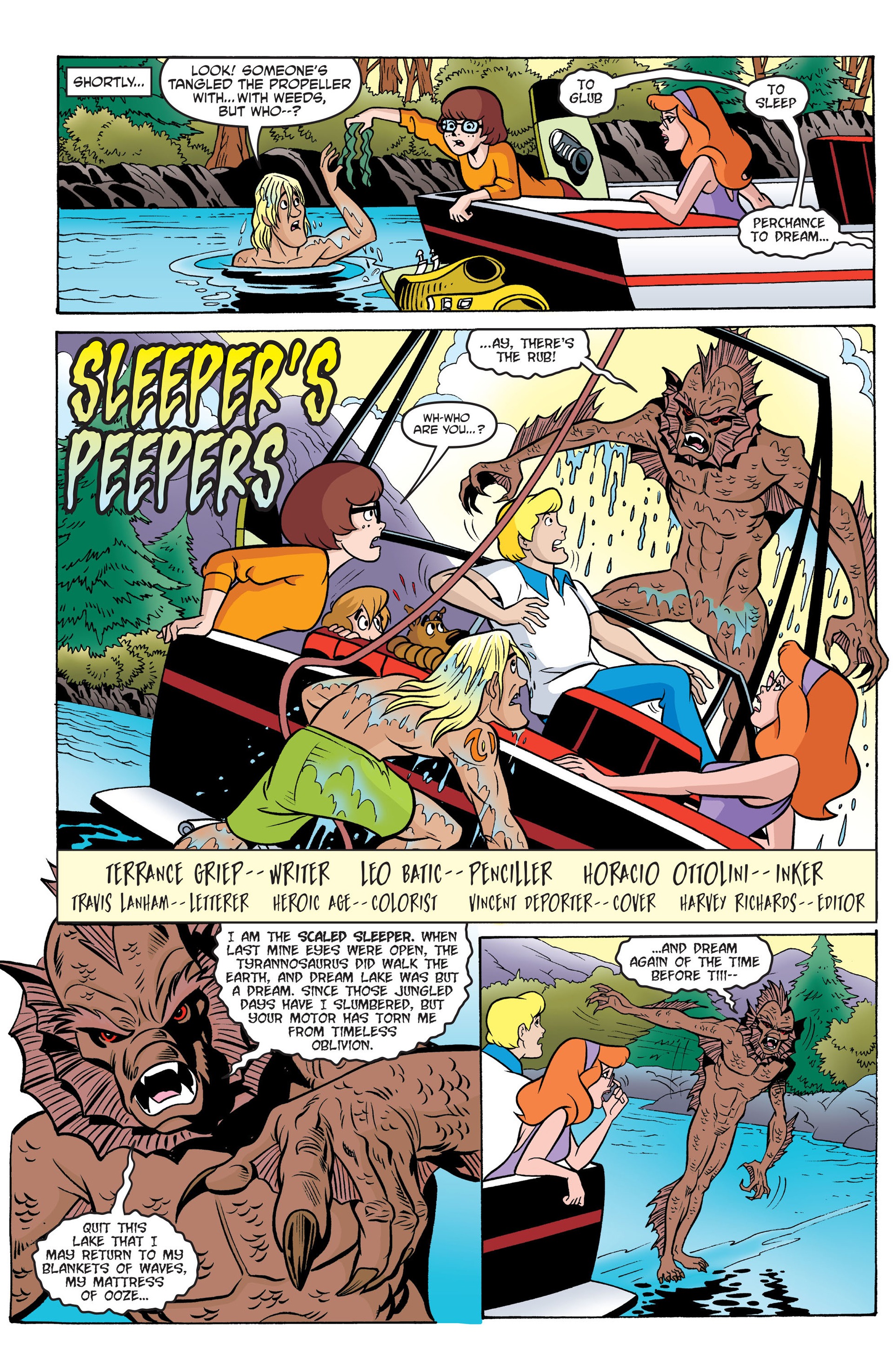 Read online Scooby-Doo: Where Are You? comic -  Issue #42 - 13