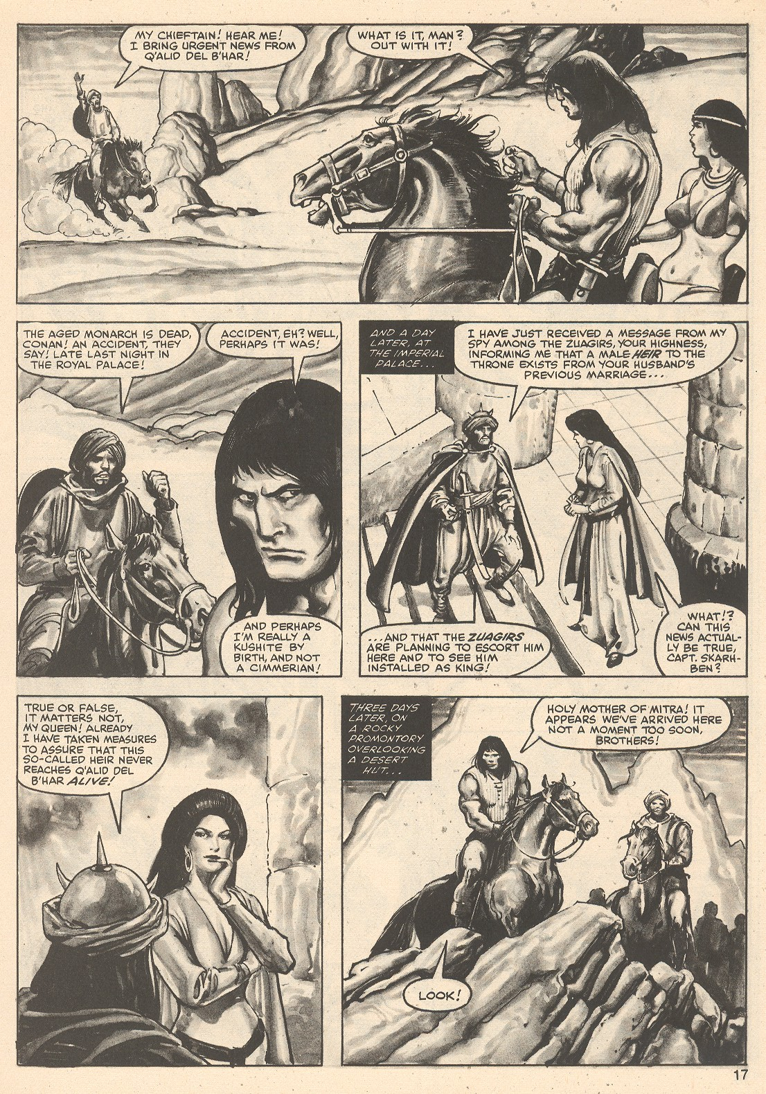 The Savage Sword Of Conan Issue #76 #77 - English 17