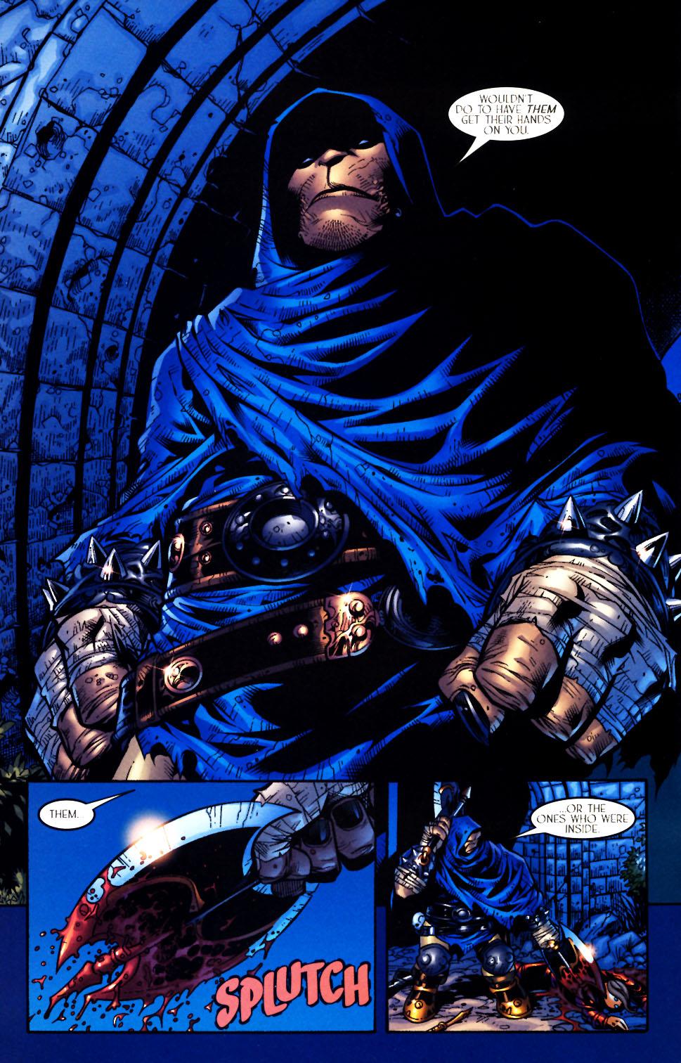Read online Scion comic -  Issue #4 - 7