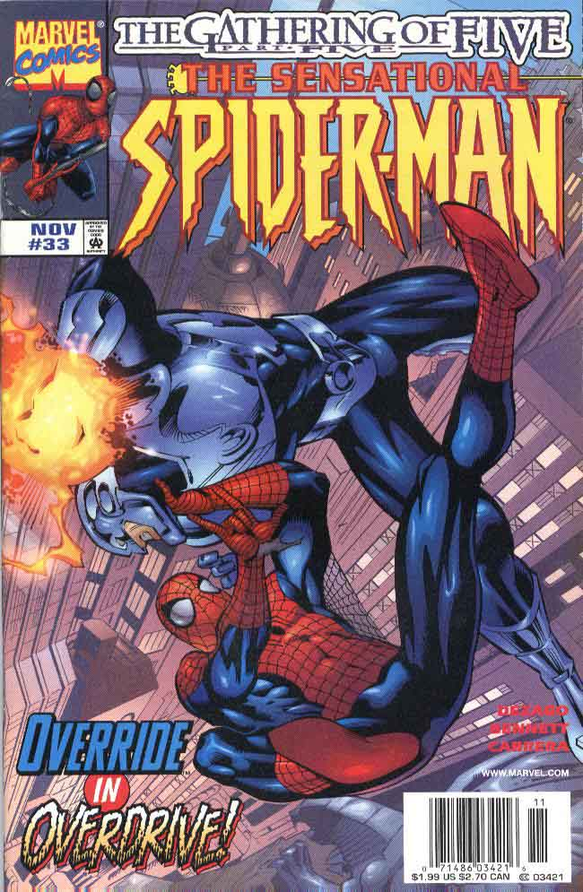 Read online The Sensational Spider-Man (1996) comic -  Issue #33 - 1