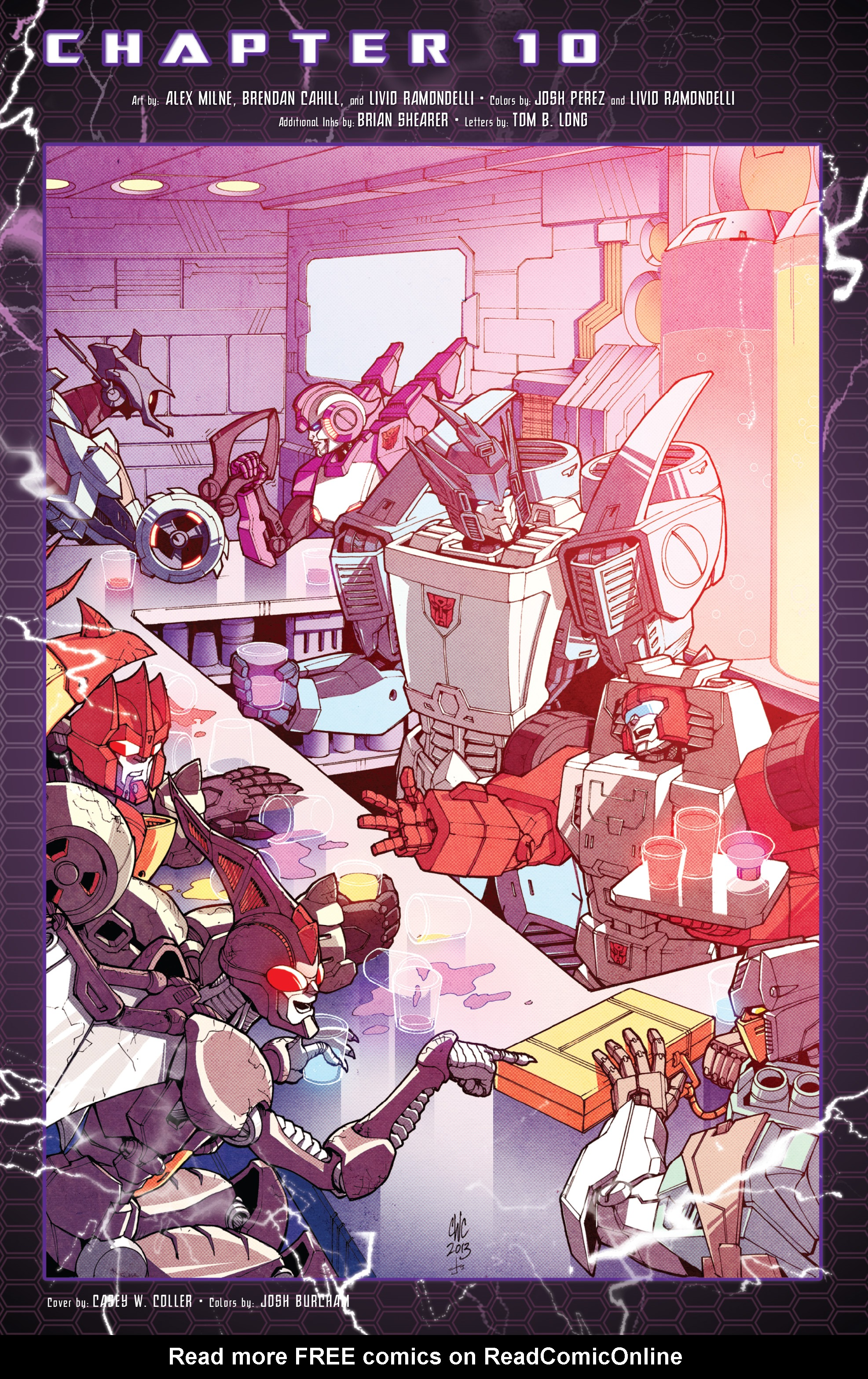 Read online The Transformers: Dark Cybertron Finale comic -  Issue # Full - 77