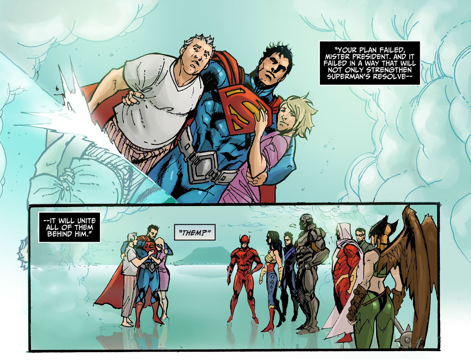 Injustice: Gods Among Us [I] Issue #8 #9 - English 21