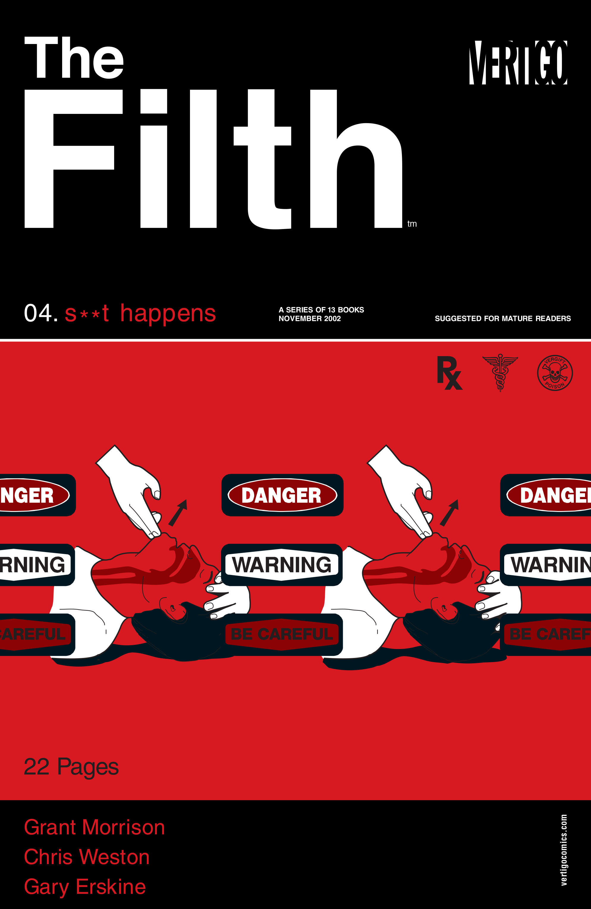 The Filth issue 4 - Page 1