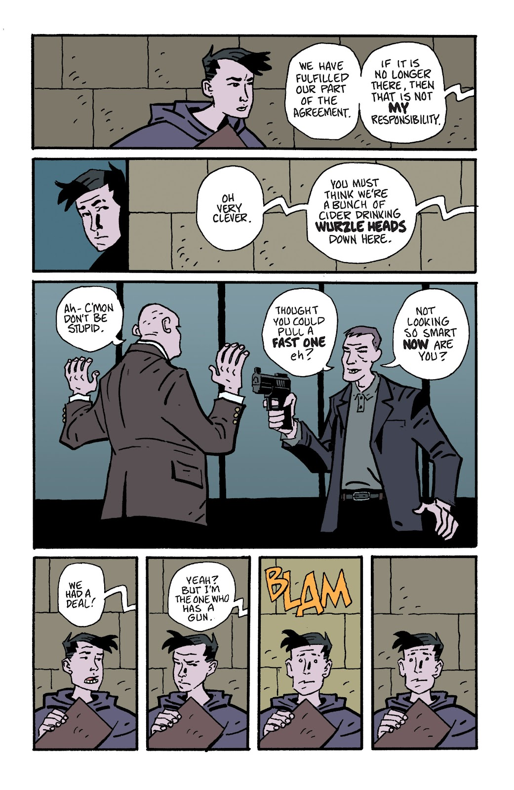 Mudman Issue #6 #6 - English 19