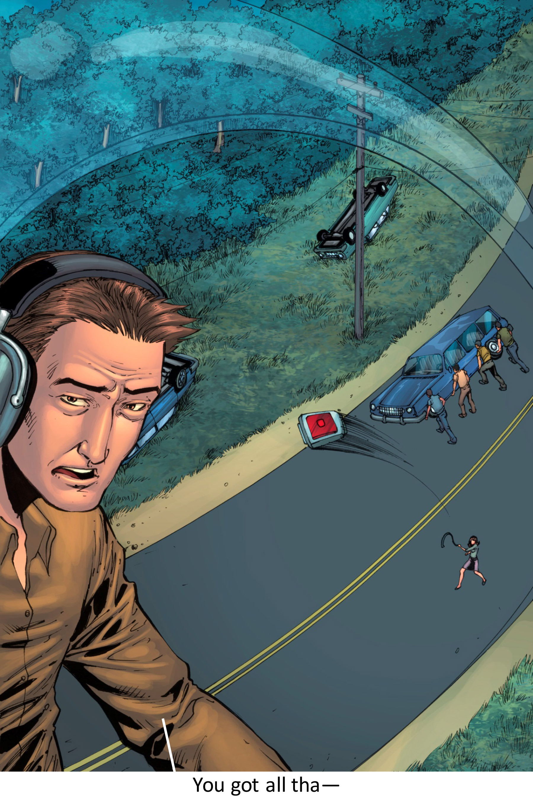 Read online Z-Men comic -  Issue #3 - 45