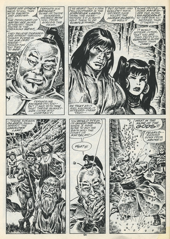 The Savage Sword Of Conan Issue #193 #194 - English 56