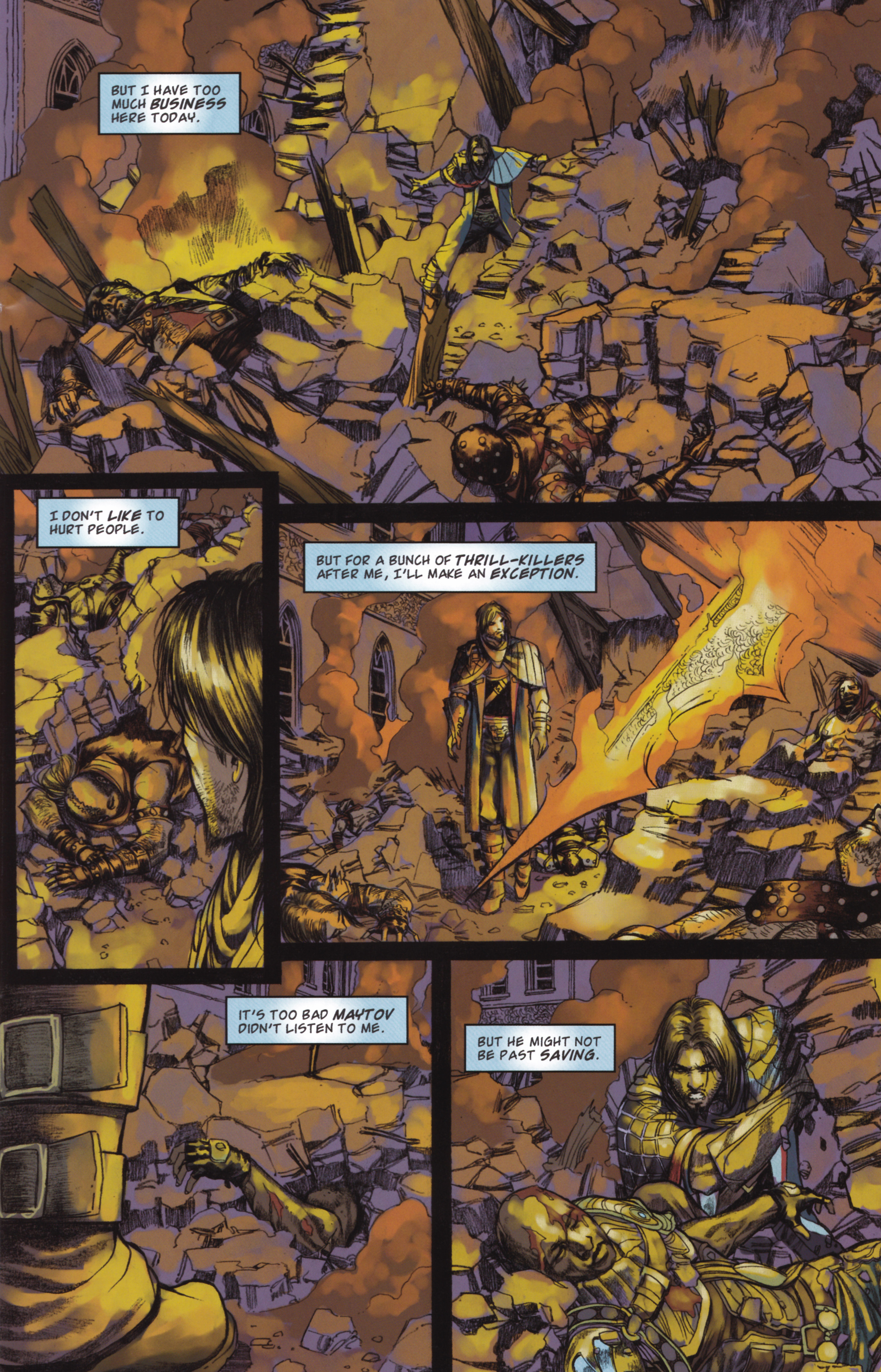 Read online Magic: The Gathering--Path of Vengeance comic -  Issue #2 - 9