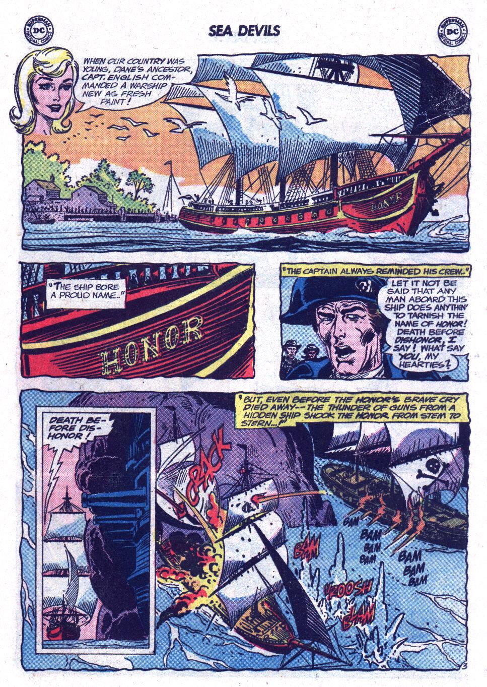 Read online Sea Devils comic -  Issue #13 - 5