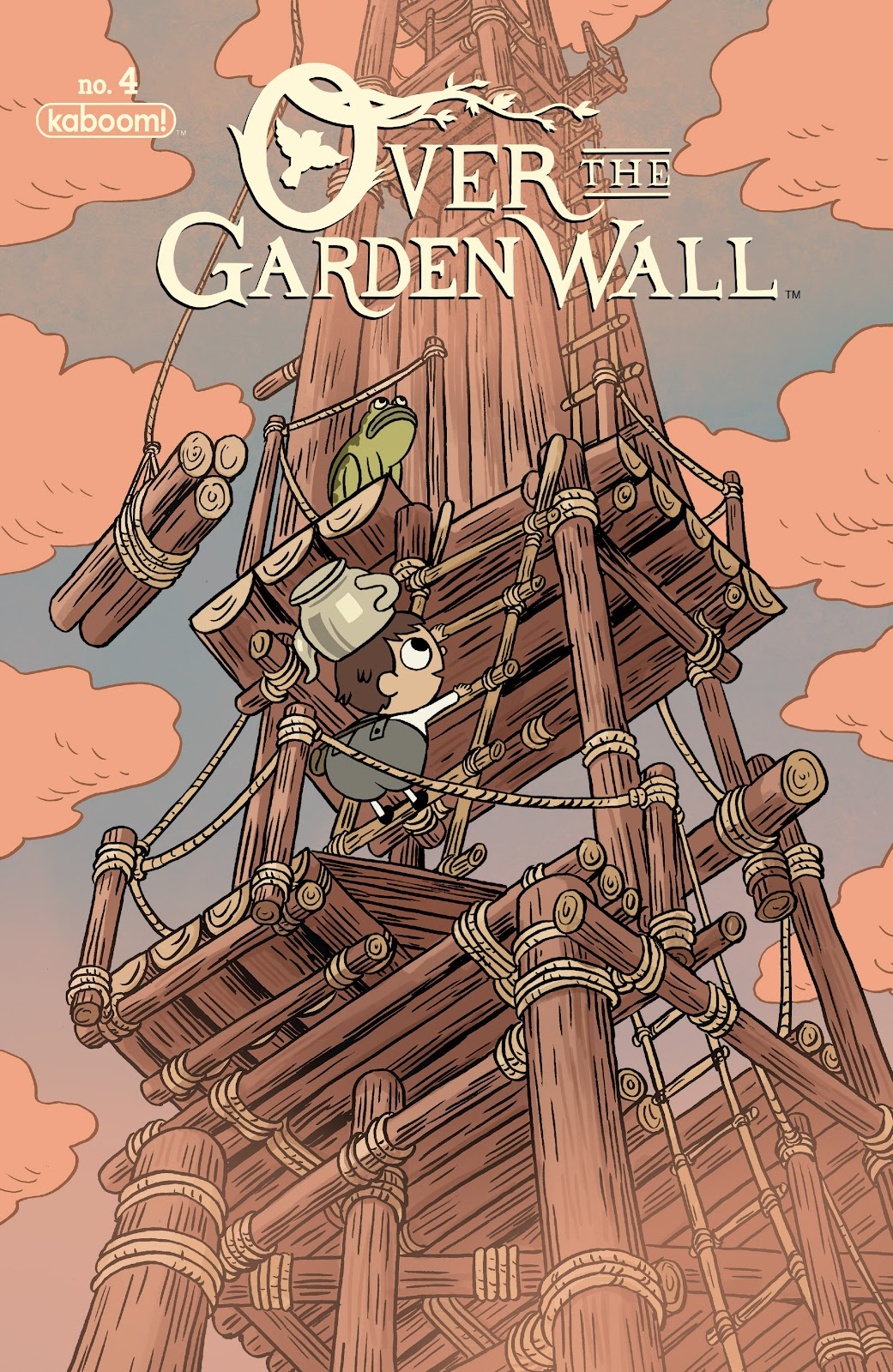 Over the Garden Wall (2016) Issue #4 #4 - English 1