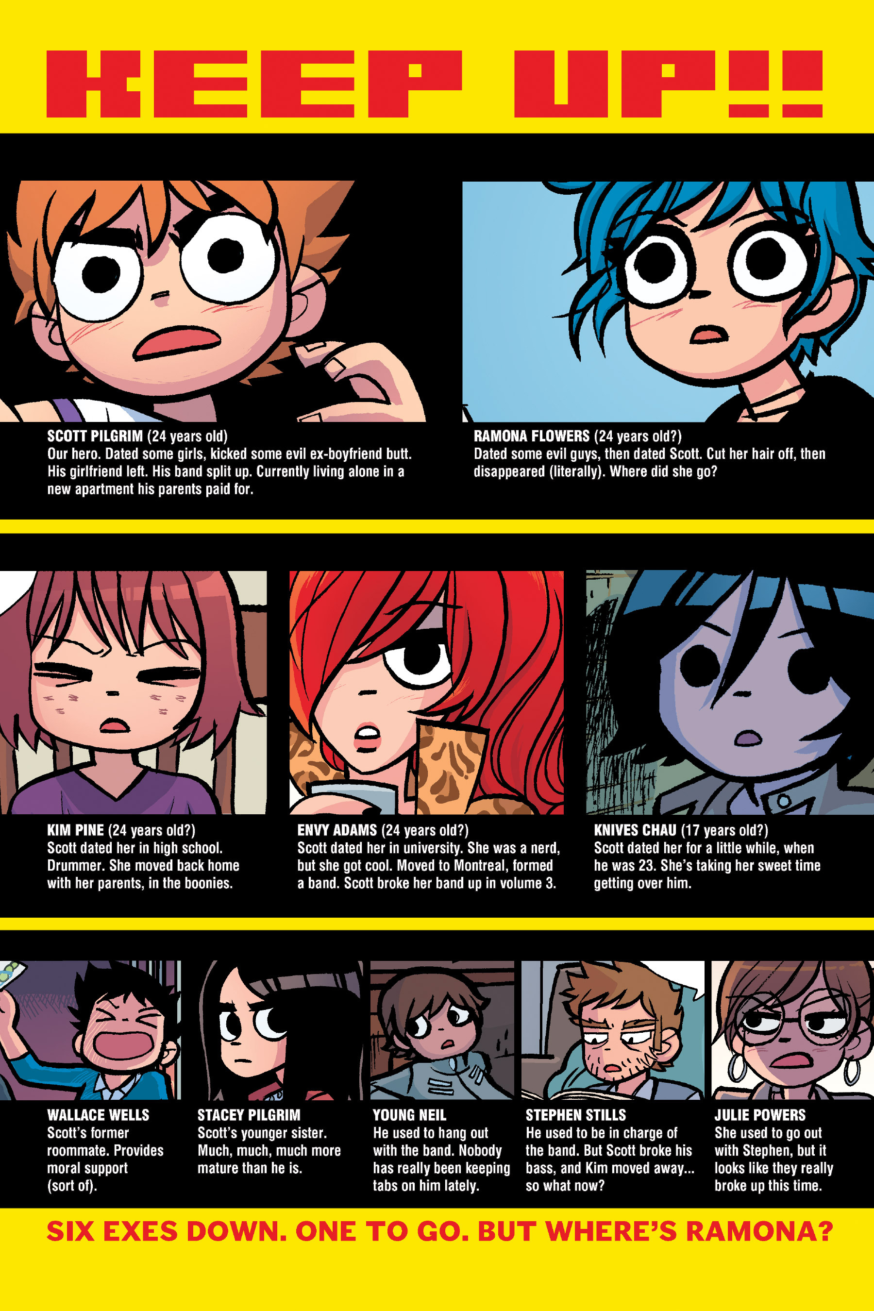 Read online Scott Pilgrim comic -  Issue #6 - 251