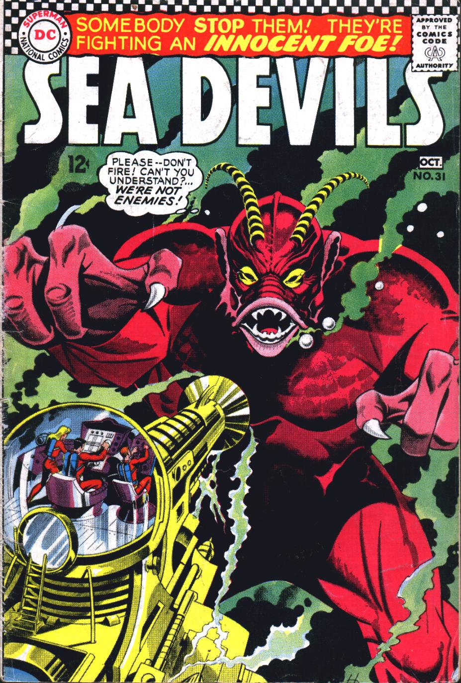 Read online Sea Devils comic -  Issue #31 - 2