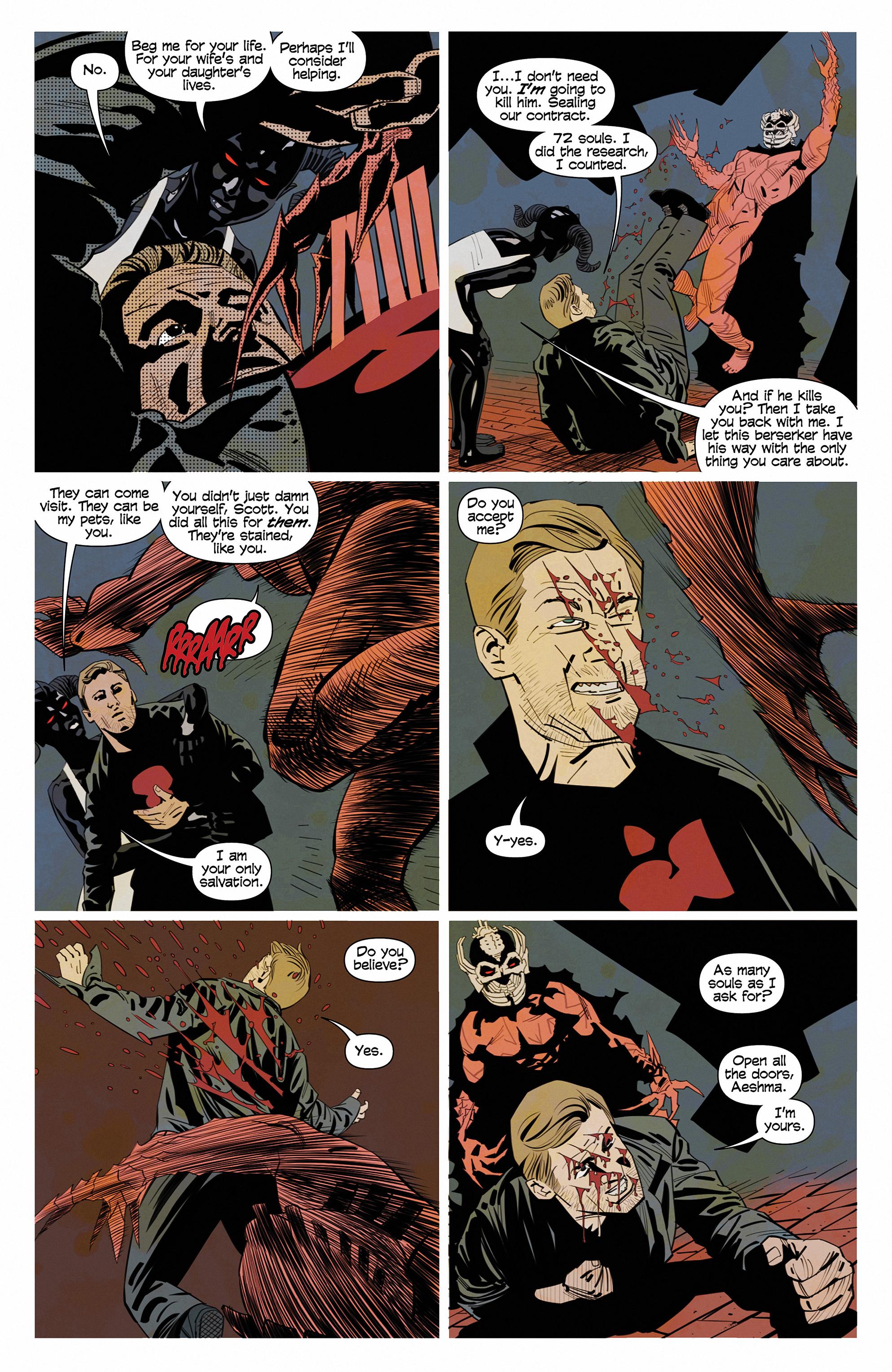 Read online Demonic comic -  Issue #6 - 15