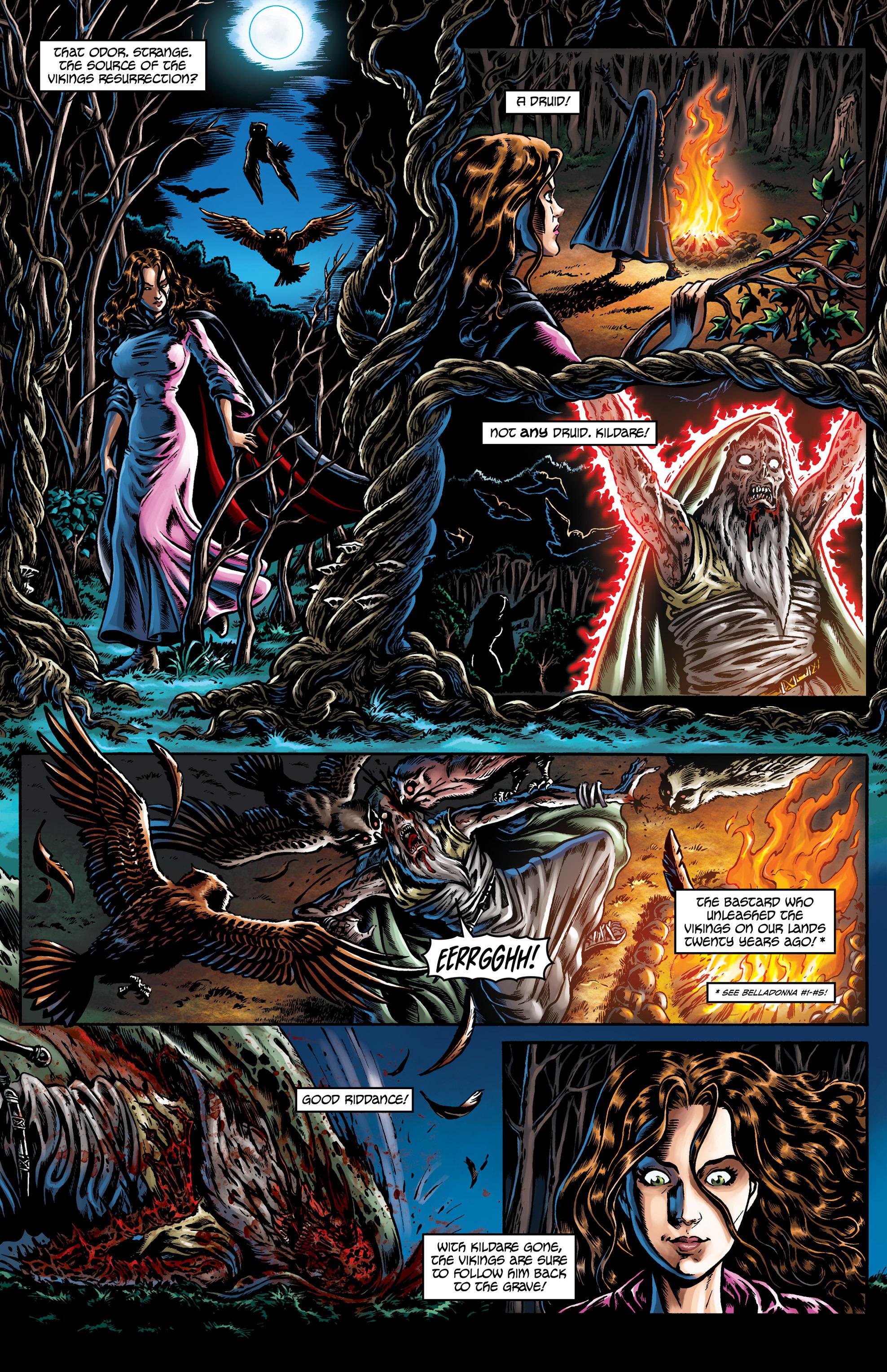 Read online Belladonna comic -  Issue #0 - 31