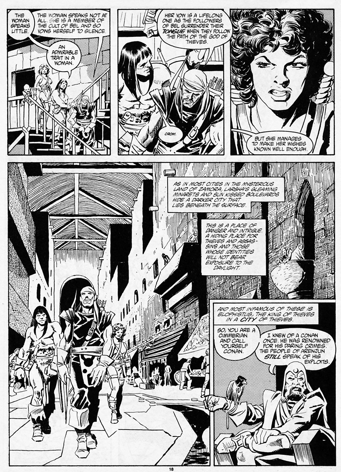 The Savage Sword Of Conan Issue #186 #187 - English 20