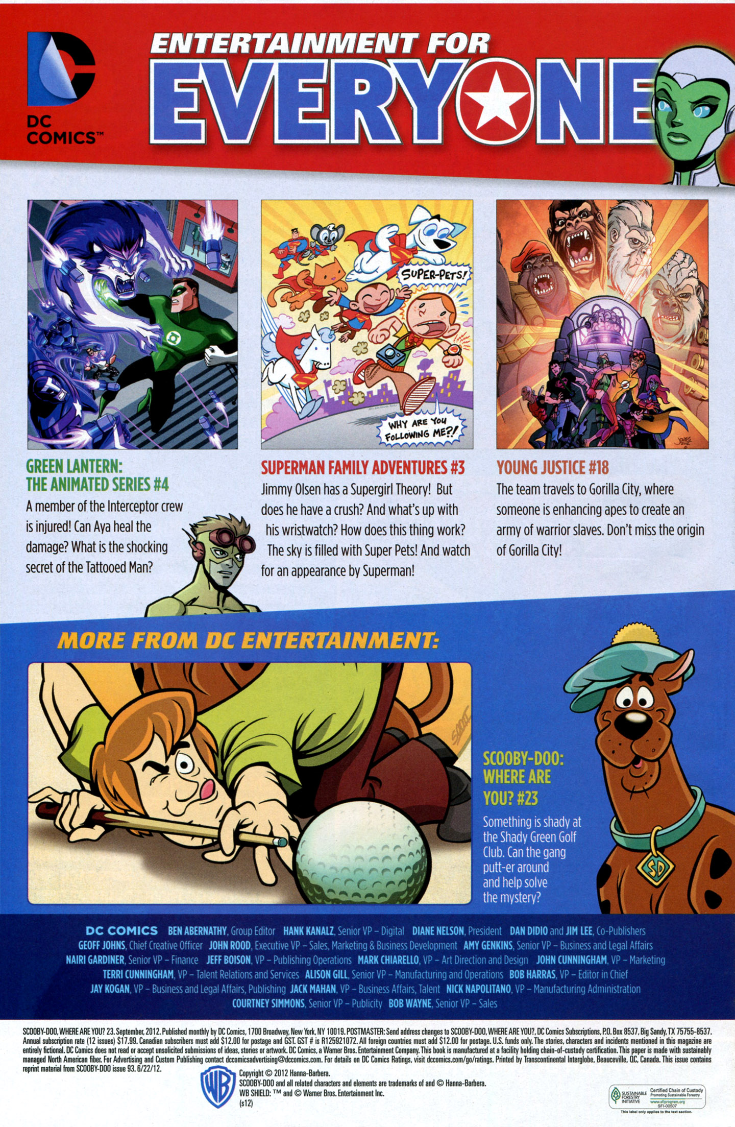 Read online Scooby-Doo: Where Are You? comic -  Issue #23 - 33