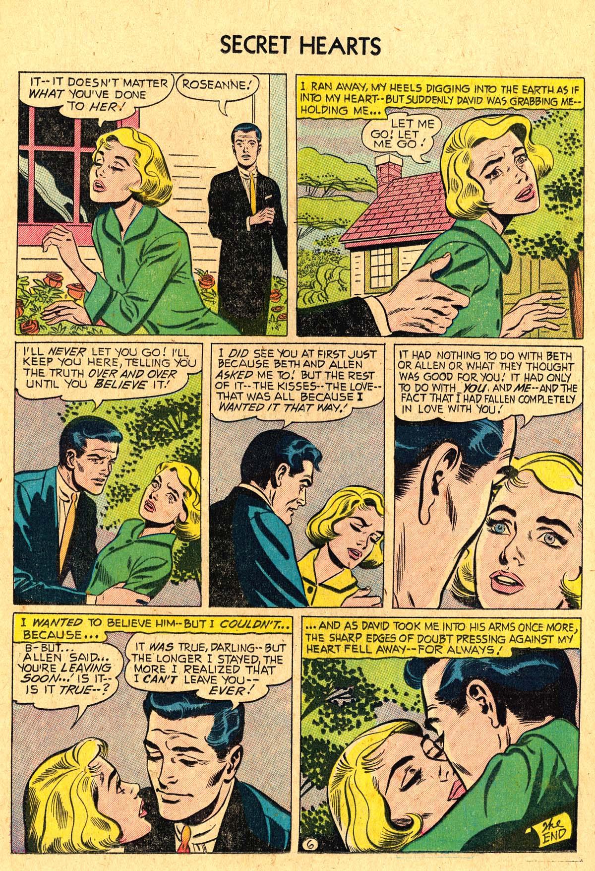 Read online Secret Hearts comic -  Issue #36 - 24