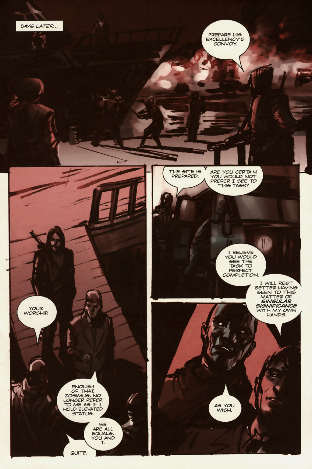 Read online Sea of Red comic -  Issue #13 - 4