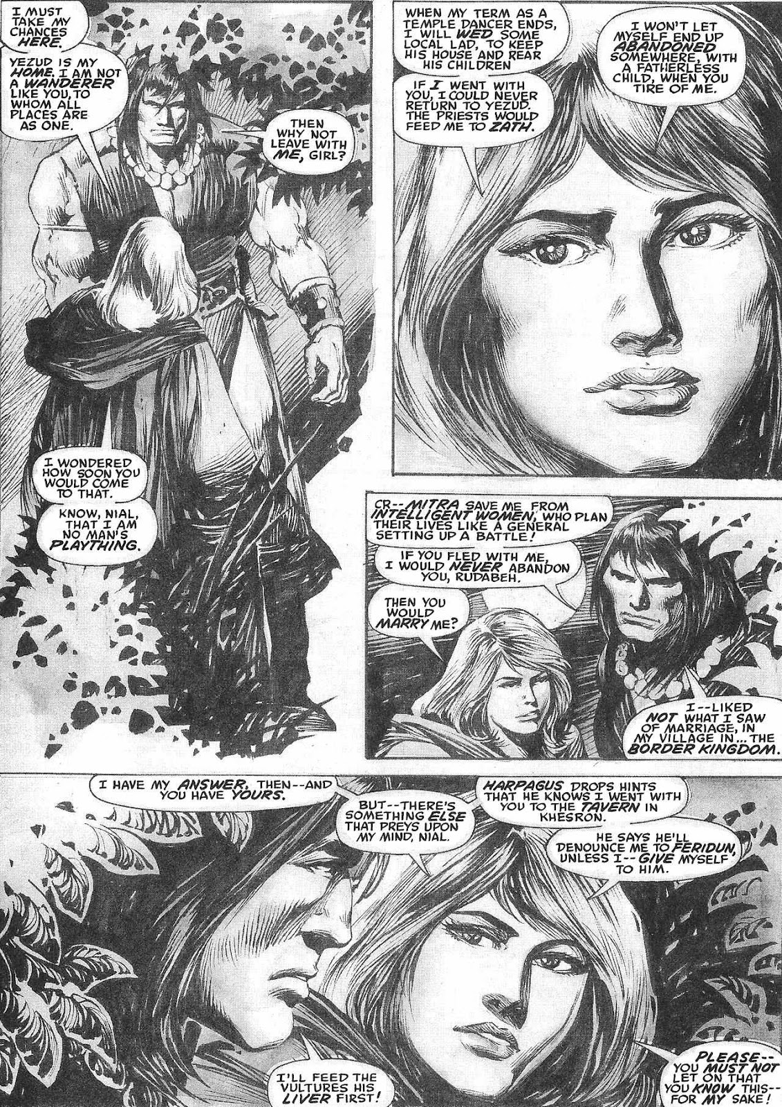The Savage Sword Of Conan Issue #209 #210 - English 13