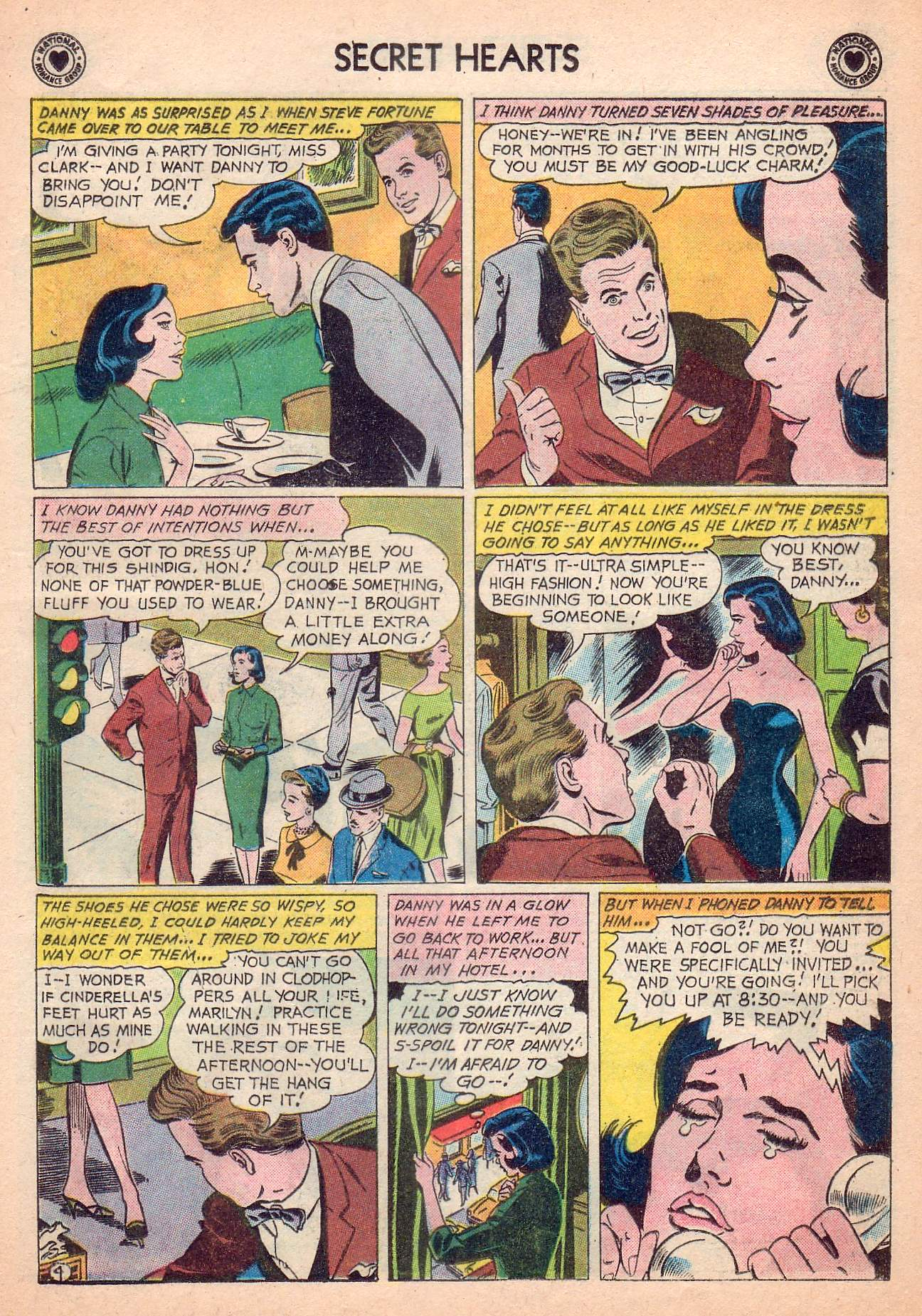 Read online Secret Hearts comic -  Issue #63 - 21