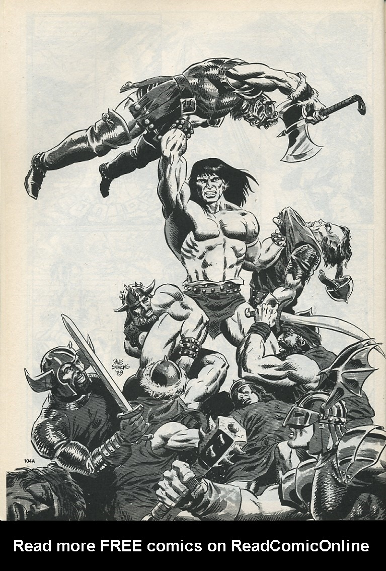 The Savage Sword Of Conan Issue #175 #176 - English 54