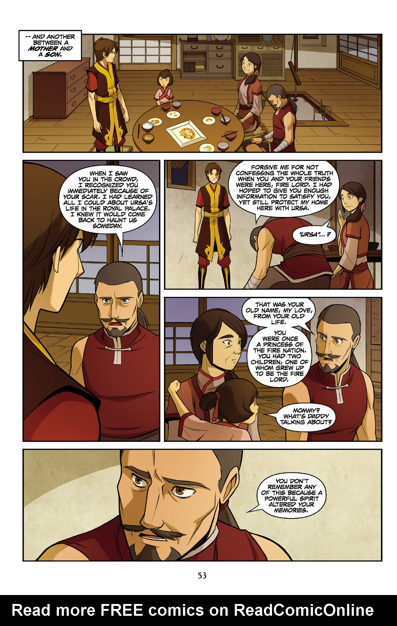 Read online Nickelodeon Avatar: The Last Airbender - The Search comic -  Issue # Part 3 - 54