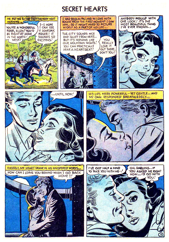 Read online Secret Hearts comic -  Issue #41 - 4