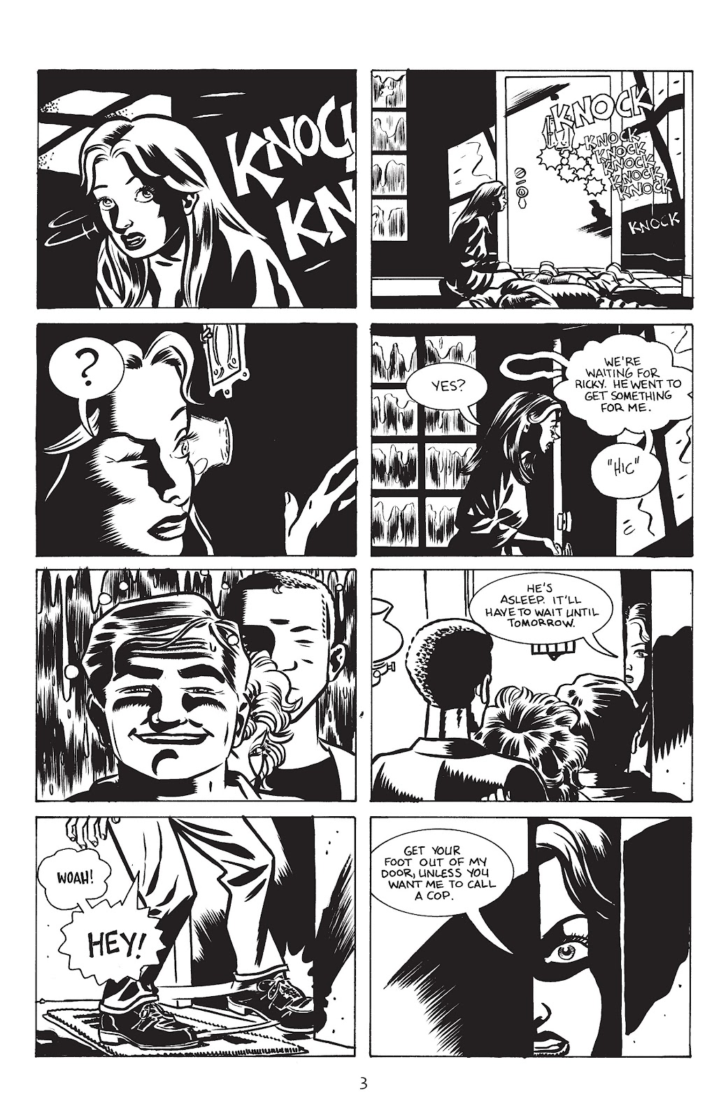 Stray Bullets Issue #17 #17 - English 5