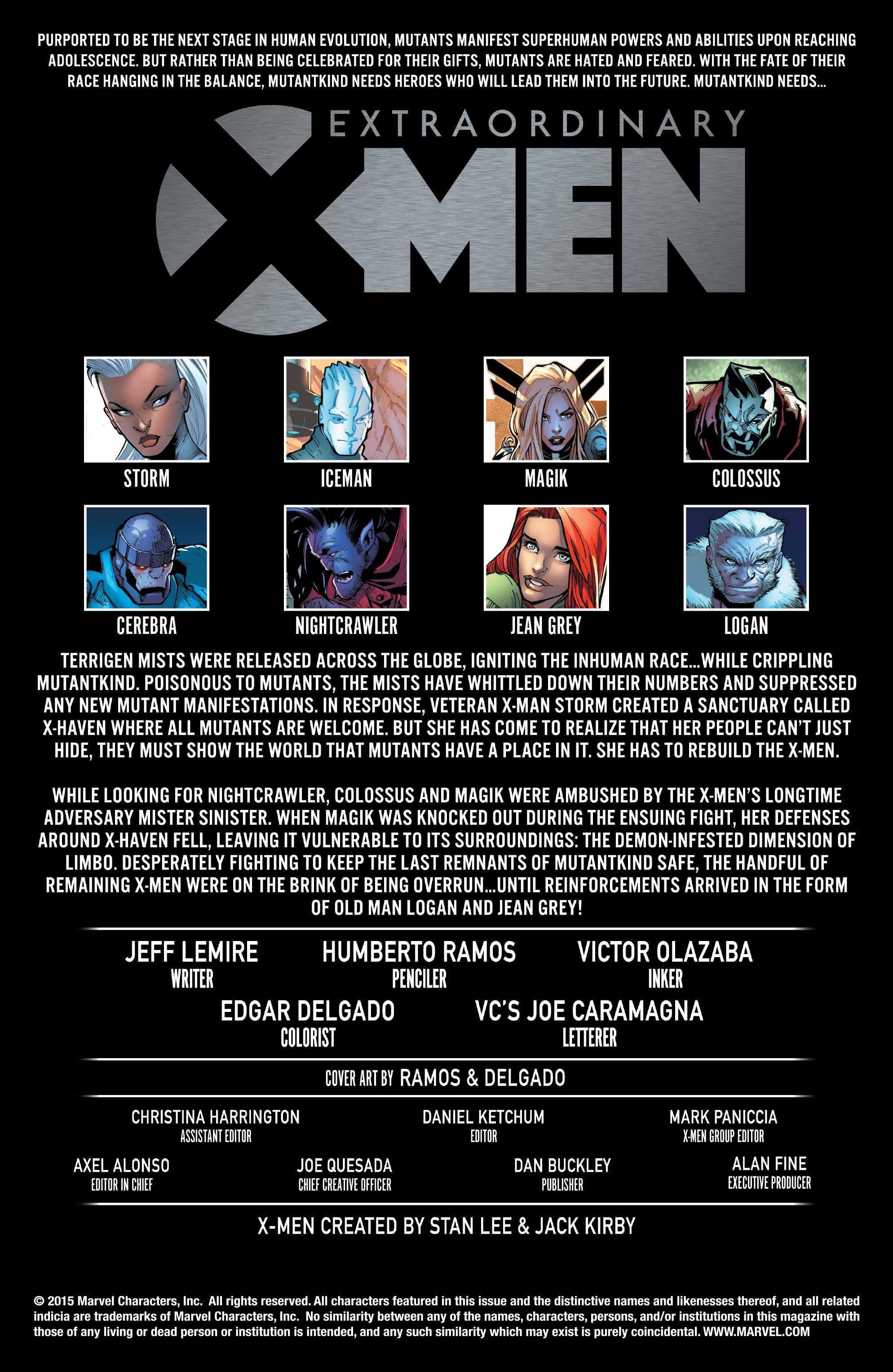 Extraordinary X-Men 4 Page 2
