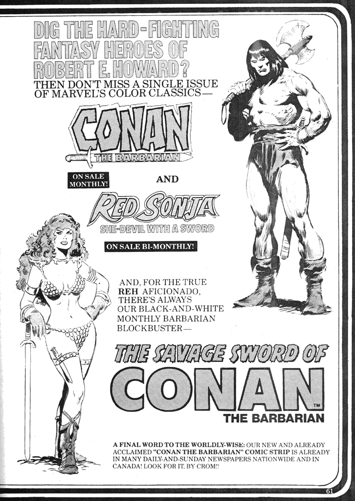 The Savage Sword Of Conan Issue #39 #40 - English 60