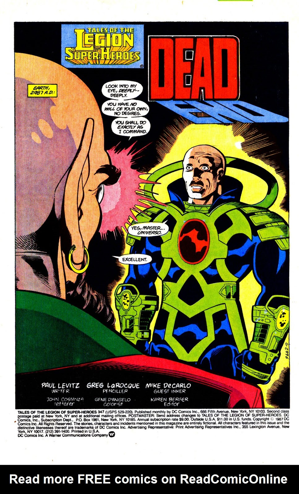 Tales of the Legion Issue #347 #34 - English 2