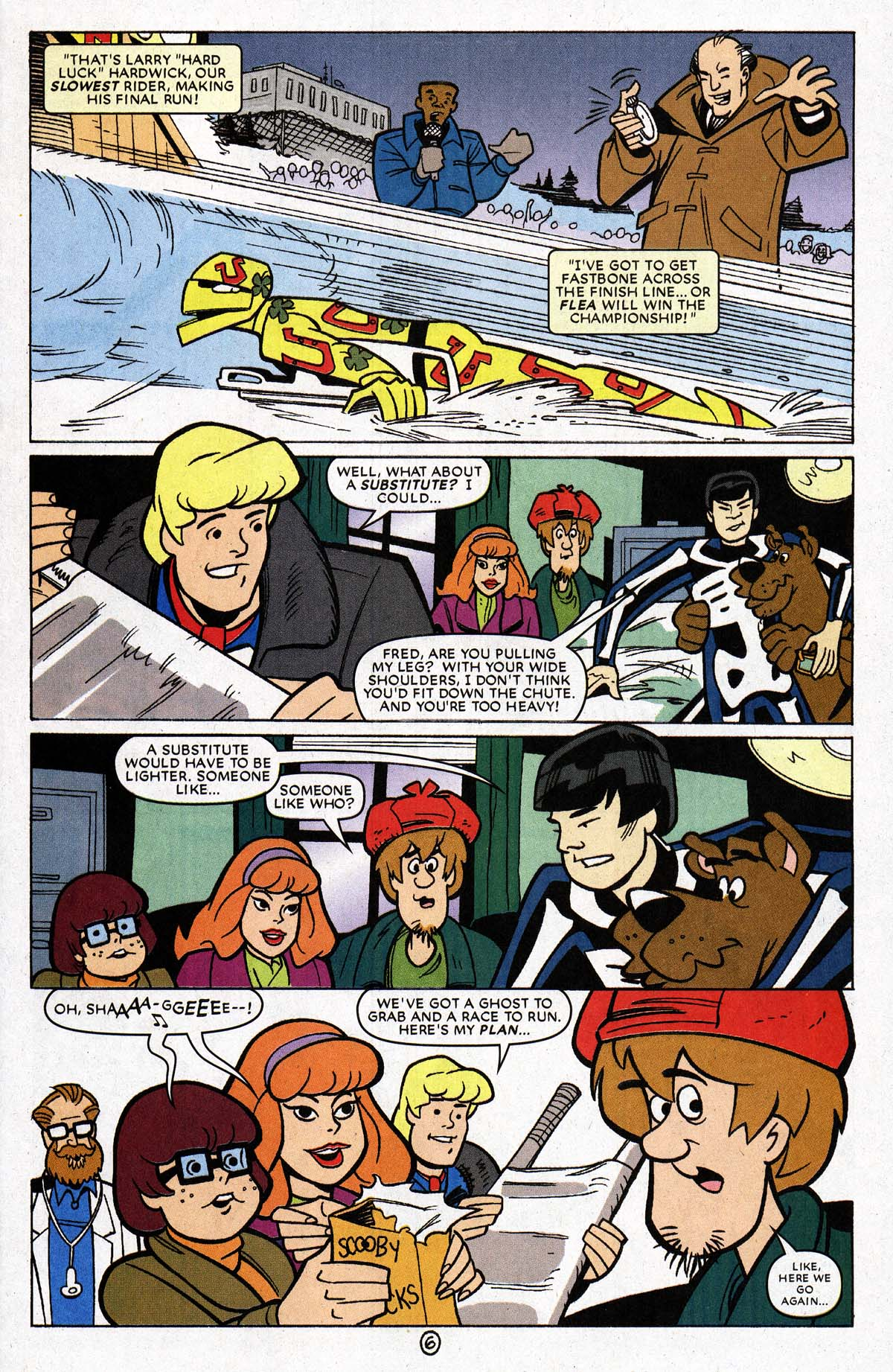 Read online Scooby-Doo (1997) comic -  Issue #69 - 17
