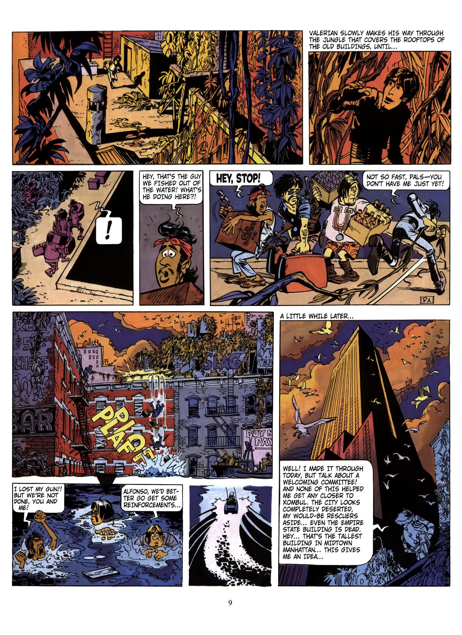 Valerian and Laureline #1 #23 - English 10