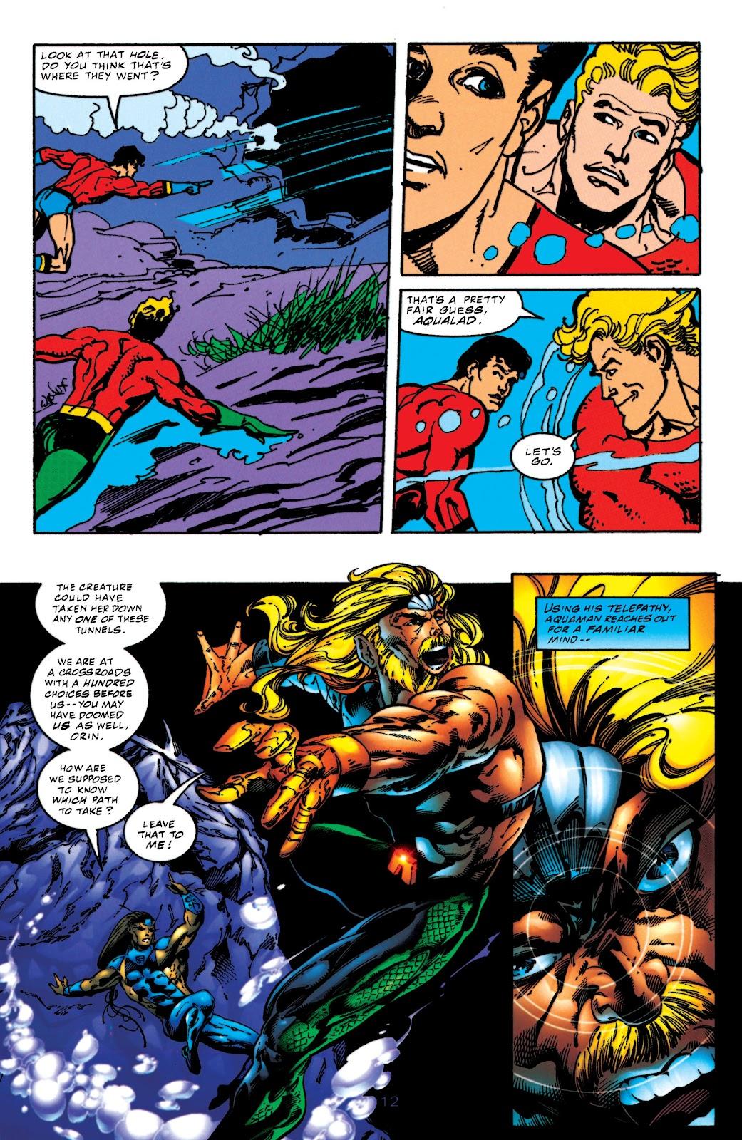Aquaman (1994) Issue #52 #58 - English 12