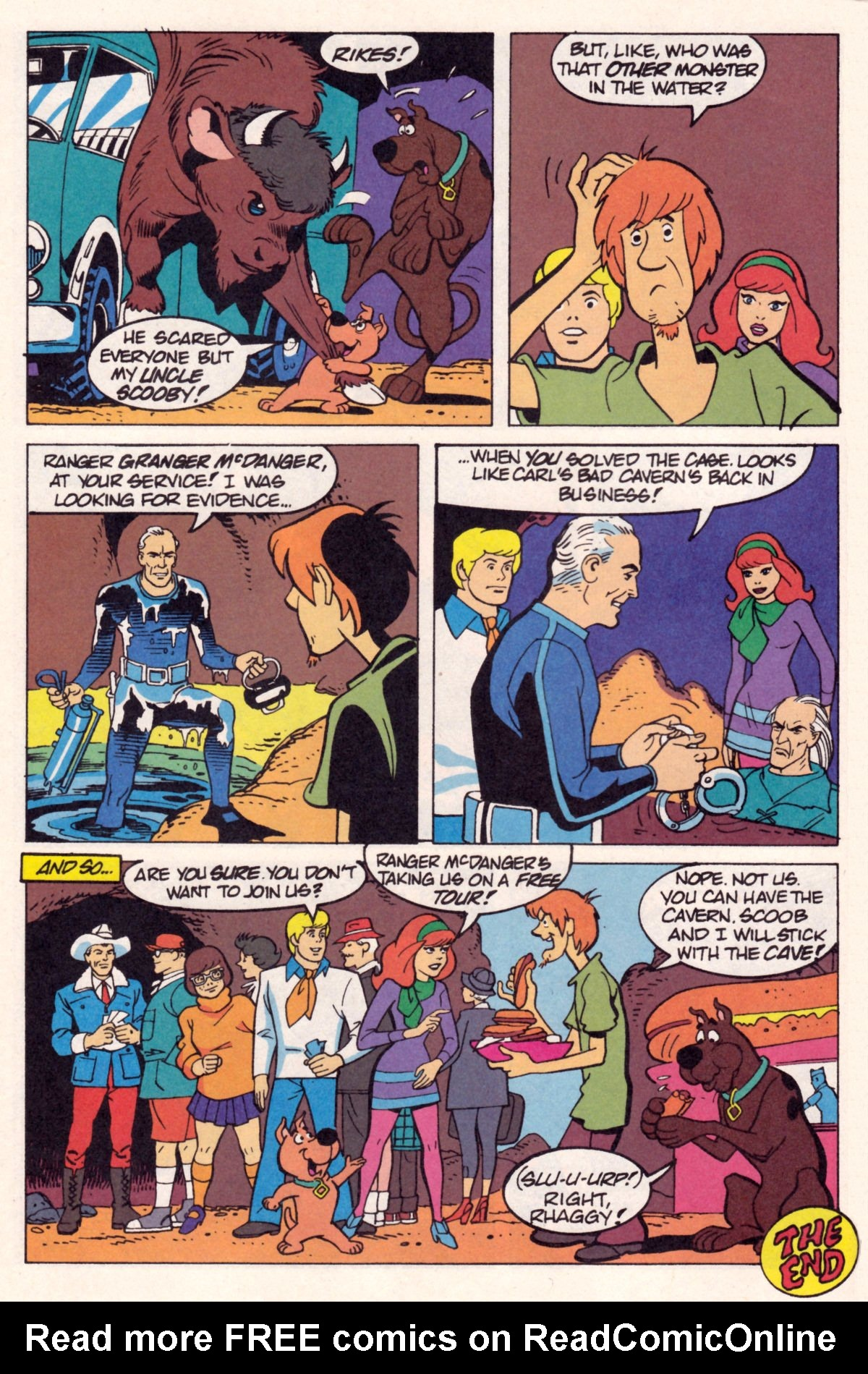 Read online Scooby-Doo (1995) comic -  Issue #12 - 15