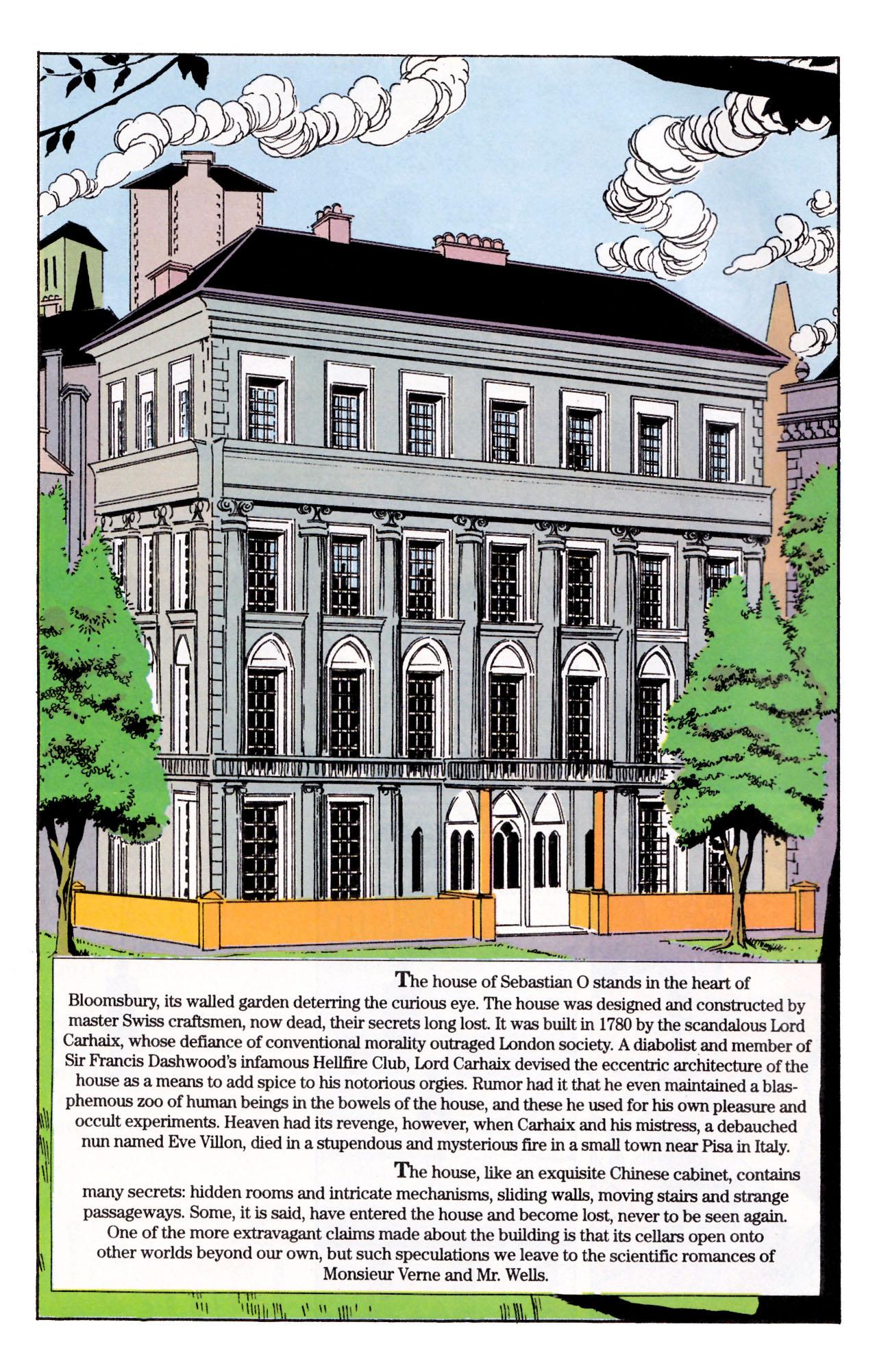 Read online Sebastian O comic -  Issue #1 - 14