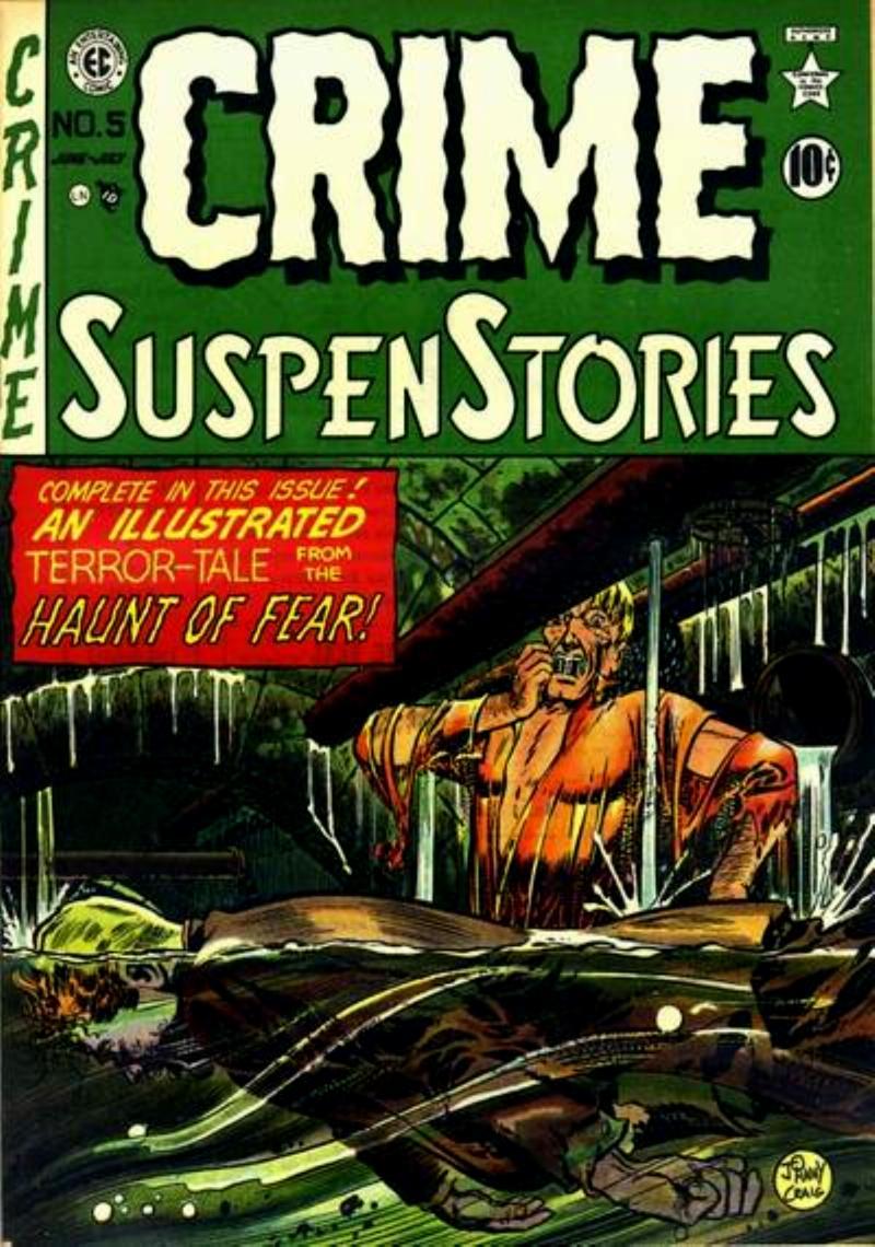 Crime SuspenStories 5 Page 1