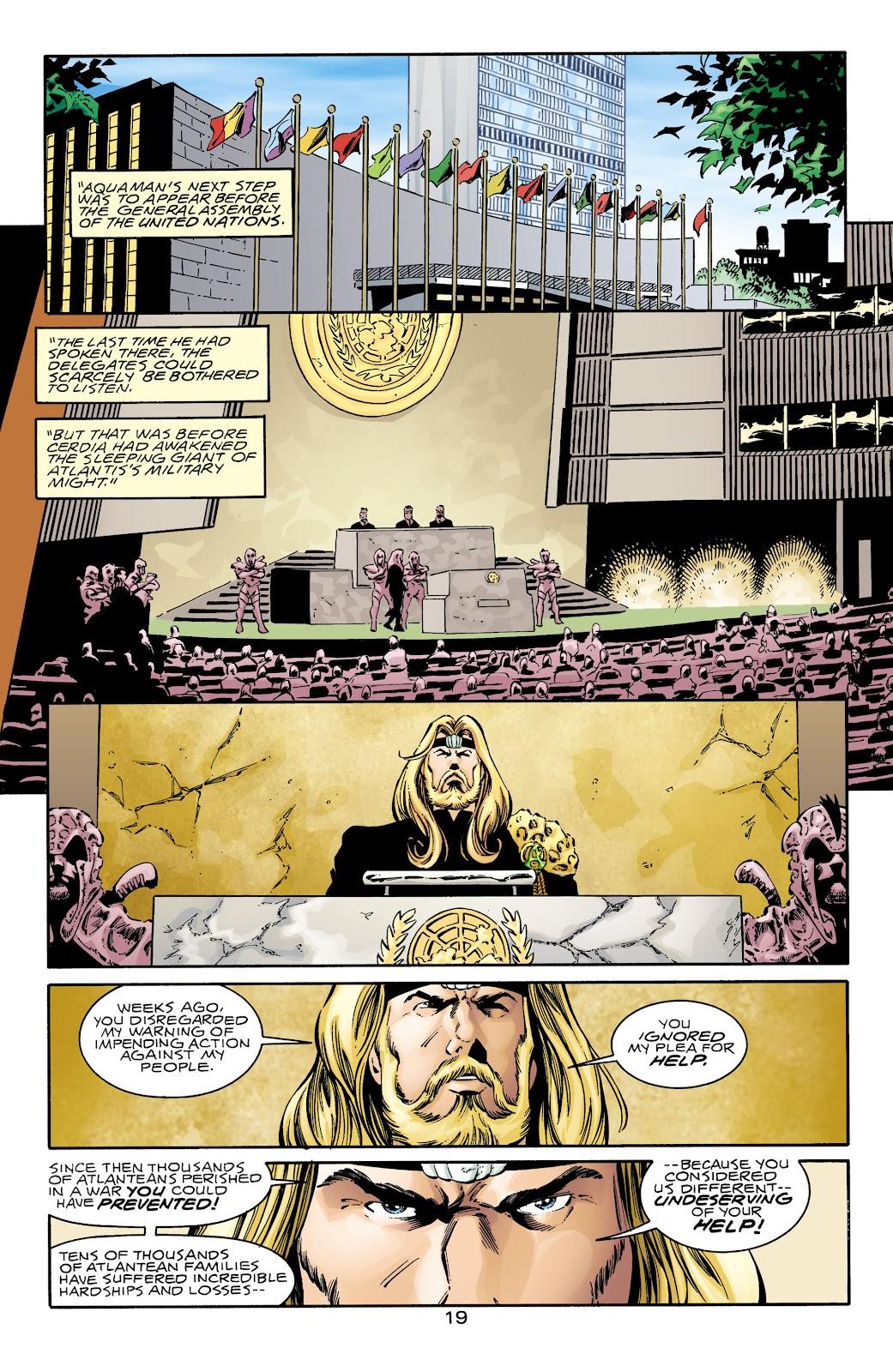 Aquaman (1994) Issue #69 #75 - English 19