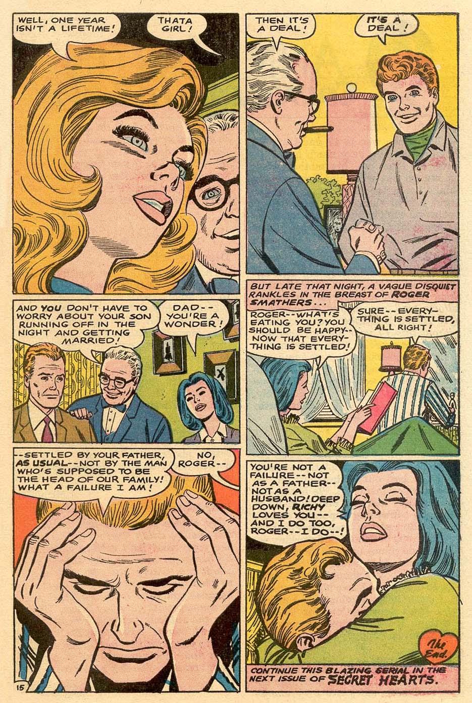 Read online Secret Hearts comic -  Issue #122 - 32
