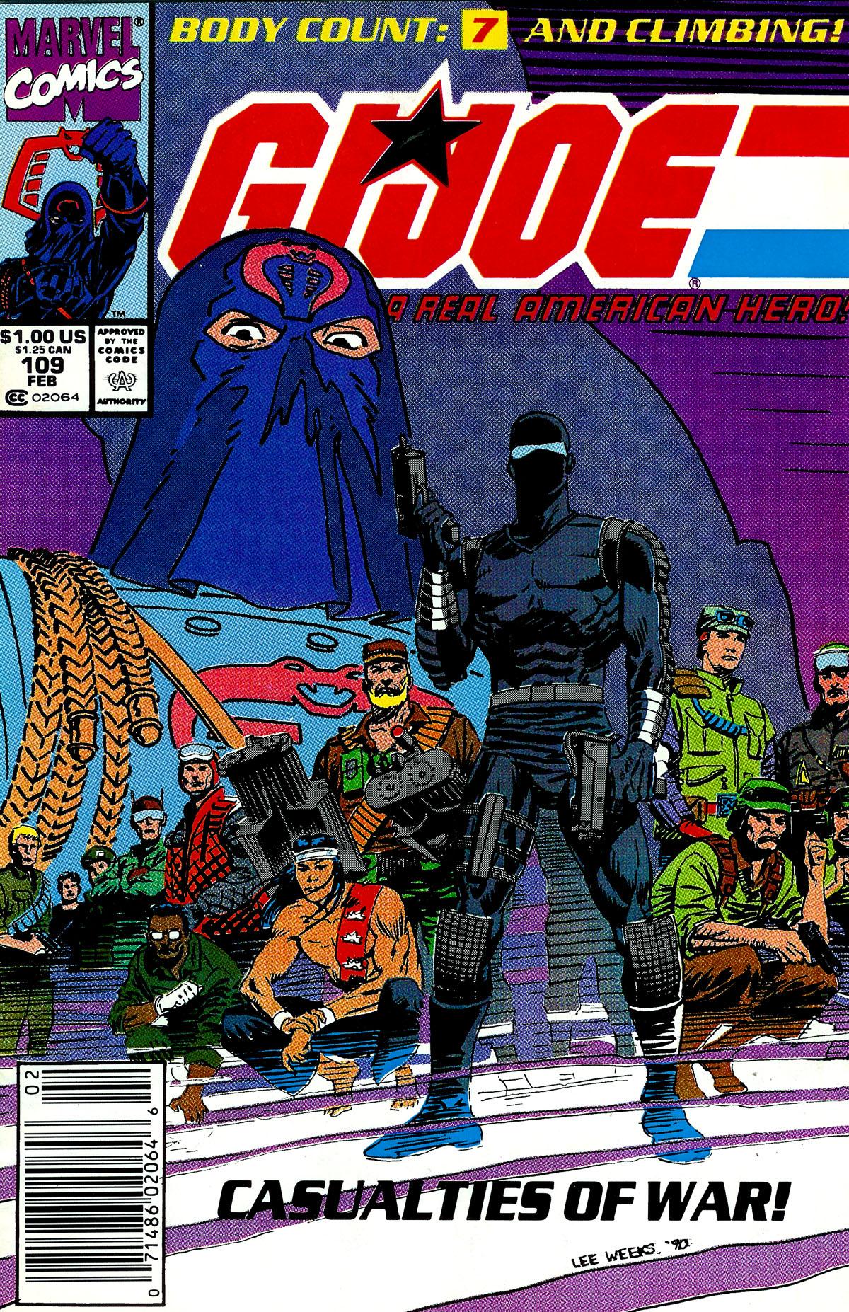 G.I. Joe: A Real American Hero 109 Page 1