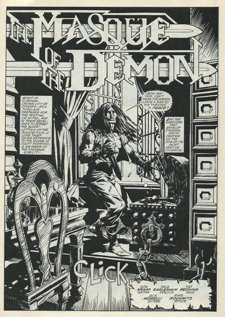 The Savage Sword Of Conan Issue #185 #186 - English 3
